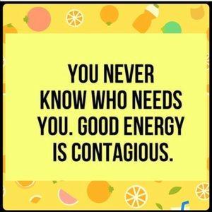 Positive energy!💫